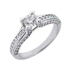 With Center Stones Engagement Rings Wedding Ring Bands, Wedding Shoes, Wedding Dresses, Classic Engagement Rings, Wedding Engagement, Or Rose, Stones, White Gold, Diamond