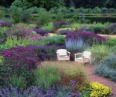 Walled Garden in Scampston Hall...(Downton Abbey)