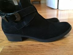 Low heel ankle boot Carvela by Kurt Geiger Selena Black Size 9 (US) 40 (Euro) #KurtGeiger #AnkleBoots #Casual