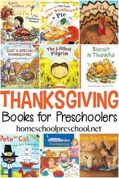 24 of the Best Thanksgiving Books for Preschoolers