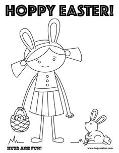 Free Easter Coloring Pages Printables For Children