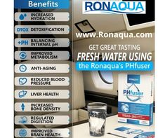 #phfuser #cleanclearwater #ronaquafilters PHfuser Alkaline Water Filtration Pouch. Increase Bone Density, Healthy Water, Water Purification, Water Treatment, Water Systems, Brain Health, Water Filter, Small Businesses, Metabolism