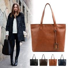 cool Fashion Handbags Ladies Women Shoulder Tote Satchel Cross Body Faux Leather Bags