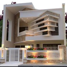 Casas espectaculares Amazing Classic House Design Ideas - Engineering Discoveries How Fit Is Your Ki Modern Exterior House Designs, Classic House Exterior, Best Modern House Design, Classic House Design, Modern House Facades, Bungalow House Design, House Front Design, Minimalist House Design, Small House Design