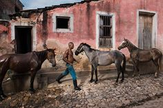 "Photo by @stevemccurryofficial // I took this picture a few months ago in Trinidad Cuba near the south coast.  Declared a World Heritage Site in 1988 Trinidad is a picturesque Spanish settlement with colorful old homes and cobblestone streets. This outdoor ""museum"" between the ocean and the mountains is an almost perfectly preserved example of colonial architecture from the 1800's. by natgeo"