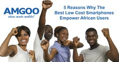 Smartphones and the use thereof has become a way of life for most in the developed world and getting them into hands of the next billion is the road to empowering their lives!  See 5 reasons why a great smartphone at the right price will help Africa and the lives of its people! http://www.amgoo.com/blog/5-reasons-why-the-best-low-cost-smartphones-empower-african-users #AMGOO #MobileInAfrica #TheBestLowCostSmartphones