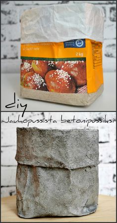 DIY betonipussi Concrete Crafts, Concrete Projects, Diy Projects, Home Crafts, Diy And Crafts, Cement Work, Beton Diy, Bath Bomb Recipes, Easy Diy