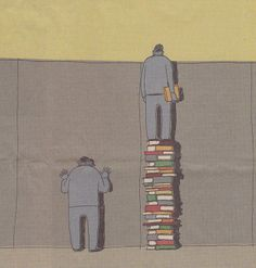 Books give you a better perspective  Hint: Facebook doesn't count as a book.