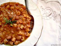 giroVegando in cucina: Pasta e fagioli