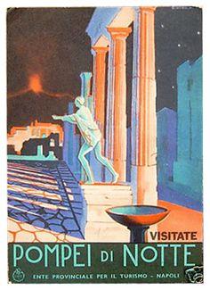 ENIT - Pompei di Notte  #TuscanyAgriturismoGiratola