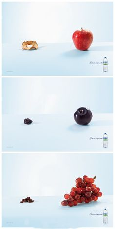 Creative AD design, perhaps this will inspire me to drink water...