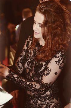 Kristen Stewart at the Twilight Breaking Dawn 2 premier
