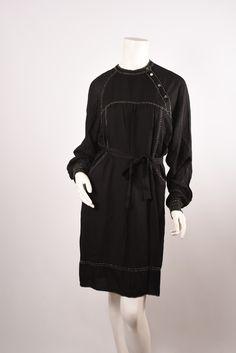 ISABEL MARANT Black Silk Dress Sz34