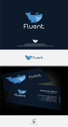 Create an iconic brand identify for Fluent Scientific by *den Raden