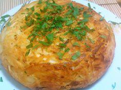 Batata suiça recheada (Batata rösti).