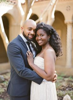 Gorgeous couple, gorgeous #engagement photos   Photo by Kristen Lynne Photography