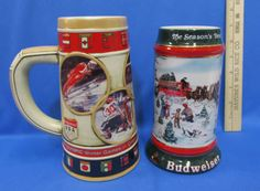 Budweiser collectibles.