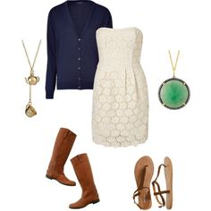 pretty little outfit for church or something
