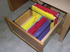 """Rev-A-Shelf RAS-LGFD-52 FD Series 16"""" Wide File Drawer System for Legal Sized Fi Black Office Cabinet Organizers File Drawer Organizers Office"""