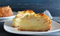 invisible aux pommes léger à 2 SP ,recette d'un délicieux gâteau léger avec des pommes, fondant et très facile à faire et idéal pour un dessert gourmand.