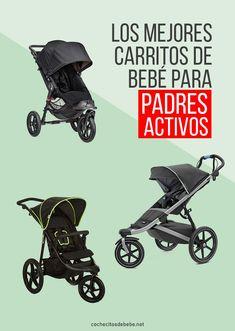 Los mejores carritos de bebe para padres deportistas 👶 cochecitosdebebe.net Baby Strollers, Children, Baby Buggy, Baby Prams, Young Children, Boys, Strollers, Child, Kids