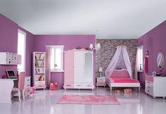 Ροζ Κοριτσίστικο Δωμάτιο για Πριγκίπισσες Princess Pink