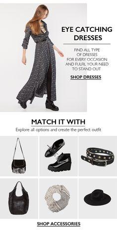 BSB Fashion Newsletter F/W 15/16 - Eye catching dresses Shop online >> www.bsbfashion.com