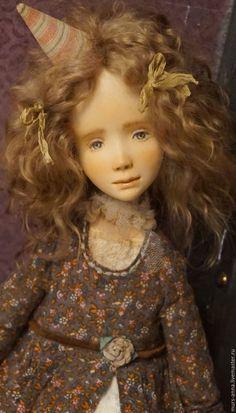 Купить Коллекционная куколка Грейс. - кукла ручной работы, единственный экземпляр, кукла в подарок