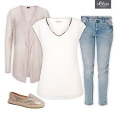 Check out 1 blouse - 3 styles #jeans #summer