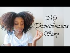 Lets Talk| Trichotillomania & Me. I respect her honesty and her hair is shaped like a heart!