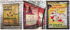 Voyage hors du temps pour un instant à la station Trinité (ligne 12) de Paris. En rénovation, découvrez des affiches des années 60 qui réapparaissent, vestiges de la station avant sa rénovation. Les travaux sont prévus pour Octobre, courez!! #Paris @anousparis #histoire  discover some old posters on the Trinité station (ligne 12) in Paris