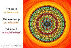 *PODLE TÉMAT | Mandala na každý den Favorite Quotes, Mandala, Outdoor Blanket, Symbols, Mandalas, Glyphs, Icons