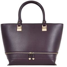 289e6a2ddd5 Structured style- Leather-look finish- Double handle design- Zip trim  detail- Internal phone pocket detail- Internal zip pocket- L  W  H