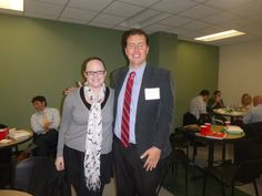 #Lawyer Evan Guthrie with Rachel Rodgers, intern at Evan Guthrie Law Firm at Evan Guthrie Law Firm at the South Carolina Bar Middle School Mock Trial Competition Lowcountry Regional at North Charleston City Hall in North Charleston, SC on Saturday November 15, 2014