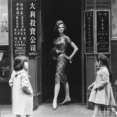 1950s Hong Kong.