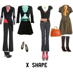 Real Life Body Shapes - X - Inside Out Style