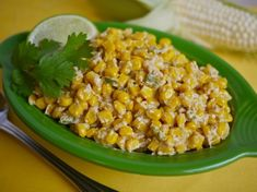 This is a quick side version of Mexican Street corn made with niblets and fork ready in minutes. A great side for cook outs and a real change from the usual salad or slaw.