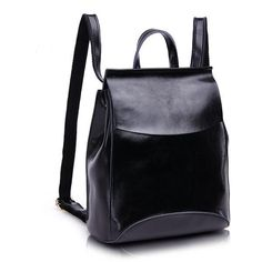Women's Vintage Fashion Design High-Quality Leather Large-Capacity Backpack 7 Colors
