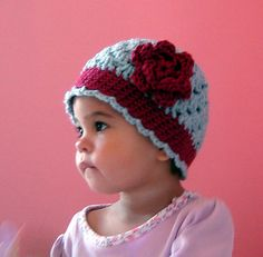 Such a sweet hat! @Emily Chambers Bradshaw, if you are having a girl, this is a hat she will desperately be in need of: )
