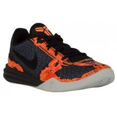 wholesale dealer f69e0 44a95 Nike Kobe Mentality - Men s - Basketball - Shoes - Kobe Bryant - Deep  Pewter Black Tumbled Grey Total Orange-sku 04942200