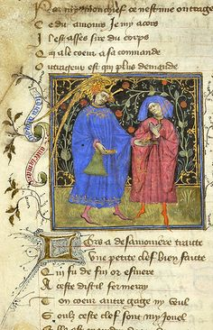Roman de la Rose, MS M.245 fol. 15v - Images from Medieval and Renaissance Manuscripts - The Morgan Library & Museum