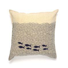 Gone Fishing Pillow Case   dotandbo.com