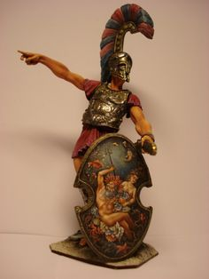 """Figures painted by me when I worked for """"Argo-studio"""" 