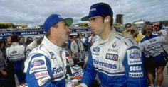 Damon Hill and Nigel Mansell 1994...