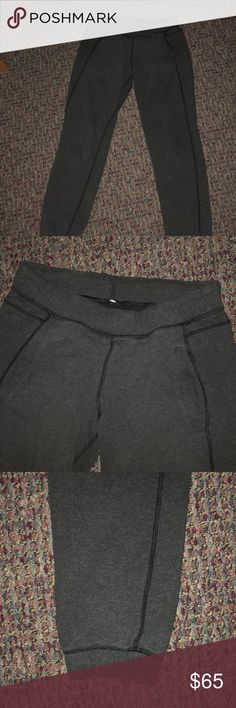 Lululemon Sweatpants worn but in very good conditon lululemon athletica Pants Track Pants & Joggers