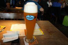 Cerveja Airbräu Kumulus, estilo German Weizen, produzida por Airbräu, Alemanha. 5.4% ABV de álcool.