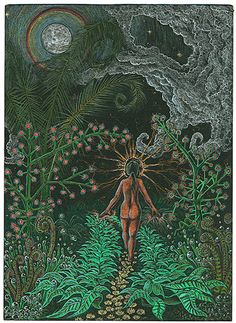 """Bryan Kent Ward """"Her Path to Divinity""""  ~ ayahuasca"""