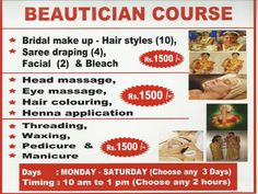 Beautician Course And Tailoring Workshop - Chennai Eventz                                                                                                                                                                                 More