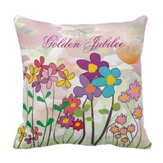 Catholic Nuns Golden 50th  Jubilee Pillow Floral http://www.zazzle.com/catholic_nuns_golden_50th_jubilee_pillow_floral-189374848455002680?rf=238282136580680600