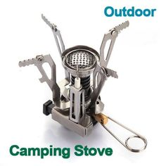 Outdoor Portable Ultra Mini Stainless Steel Gas Stove >>> For more information, visit image link.(This is an Amazon affiliate link)